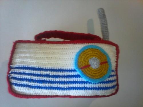 Radio en crochet-crochetfiletcreation
