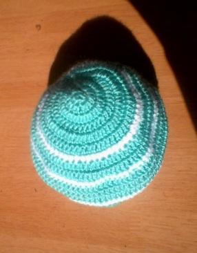 Bonnet bb en crochet