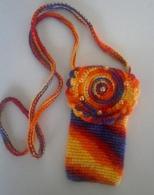 Pochette en crochet-crochetfil