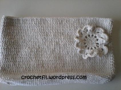 Trousse maquillage en crochet