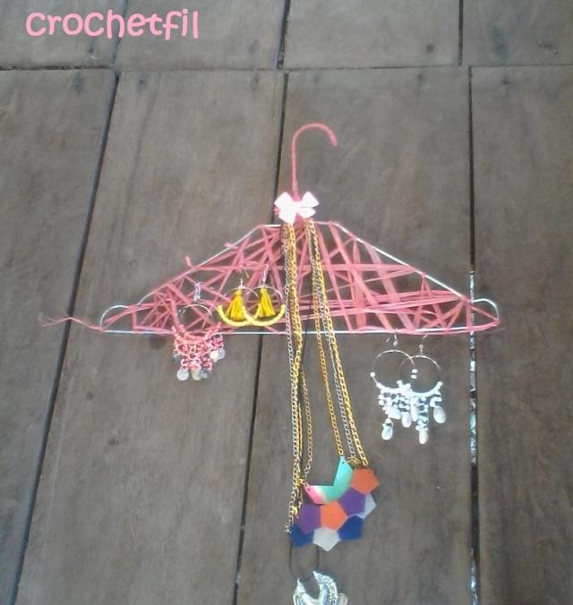 crochetfil porte bijoux