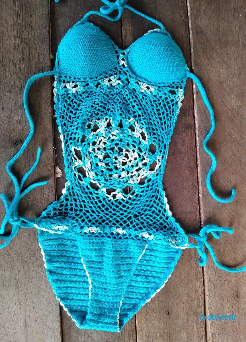 Trikini en crochet