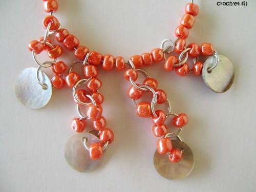 boucles d'oreilles perles 8