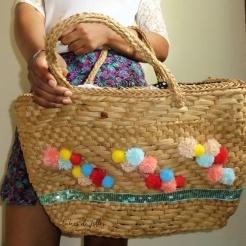 DIY customiser un panier en osier lubies de filles 2