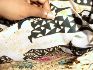DIY customiser un panier en osier lubies de filles