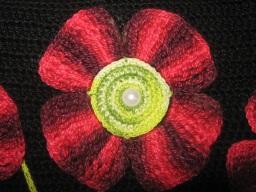 sac fleuri en crochet 4