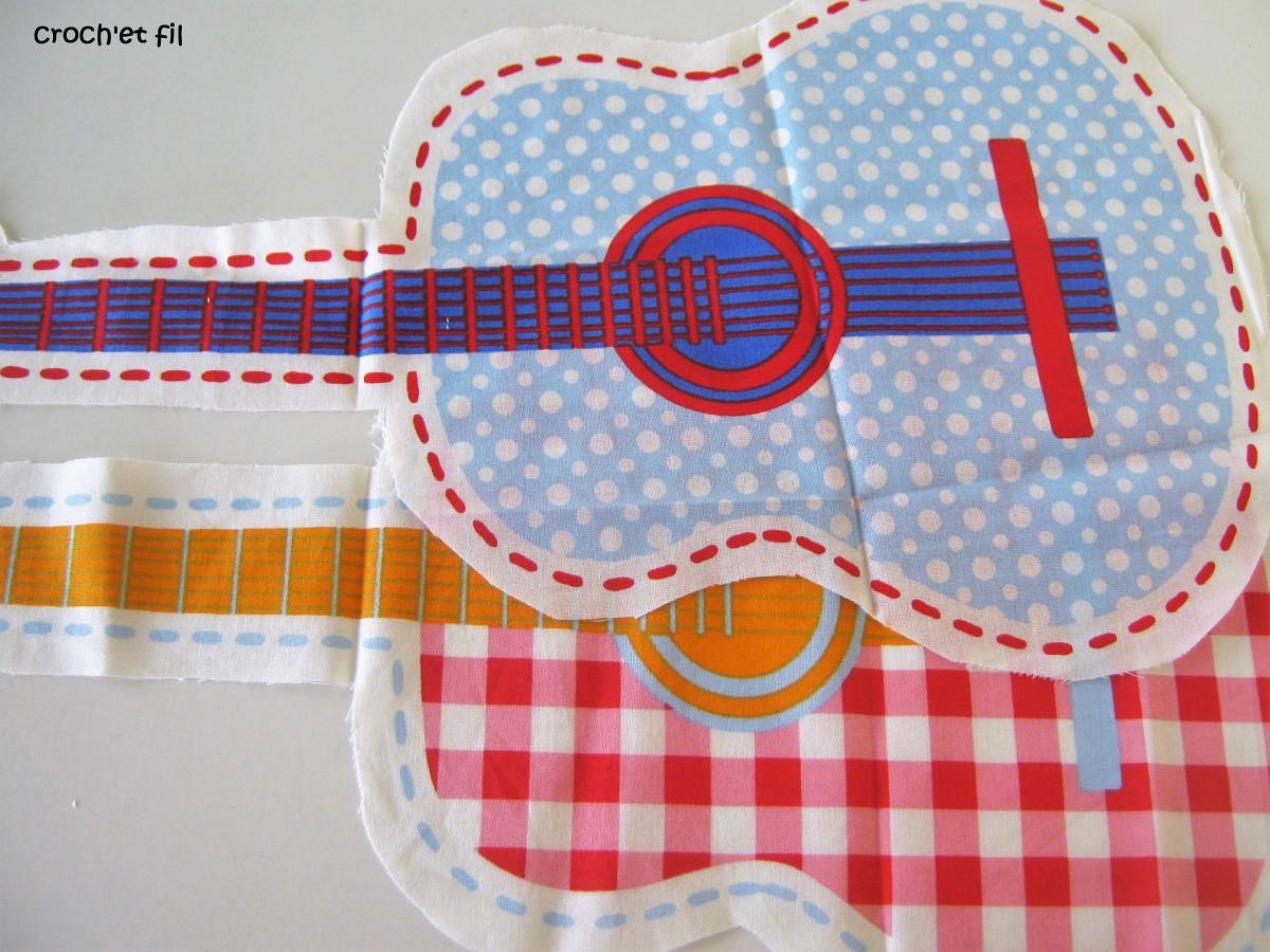 DIY doudou guitare