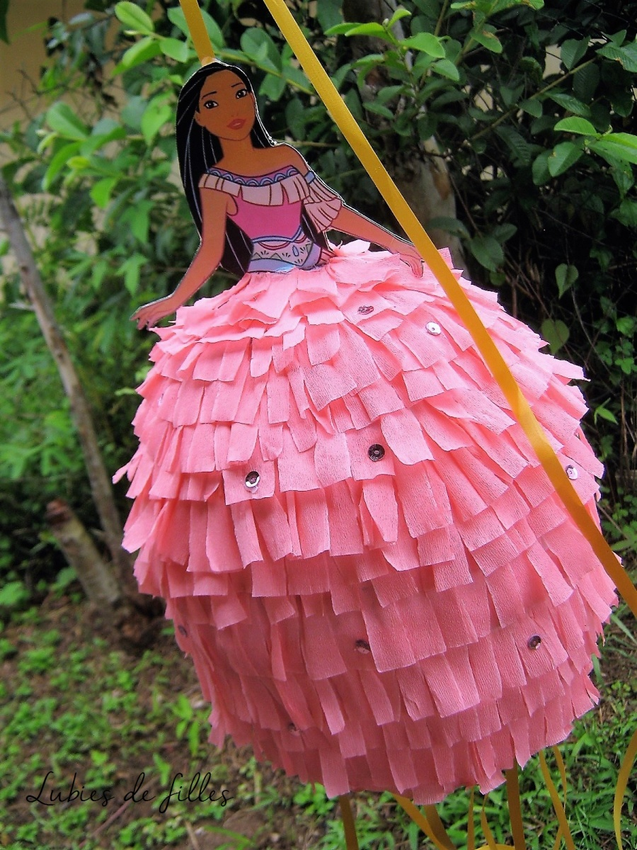 DIY piñata princesse