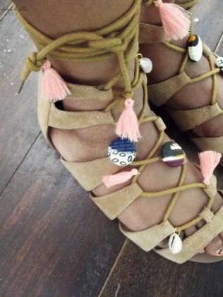 customiser ses sandales avec du wax lubies de filles 1