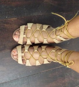 customiser ses sandales avec du wax lubies de filles 7