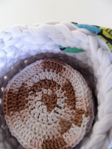 distributeur de coton en crochet lubies de filles 0