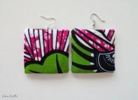 DIY boucles d'oreille en carton lubies de filles 0
