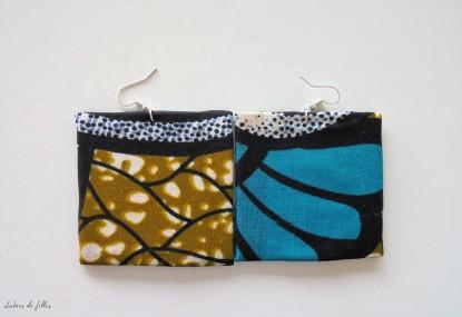 DIY boucles d'oreille en carton lubies de filles 1