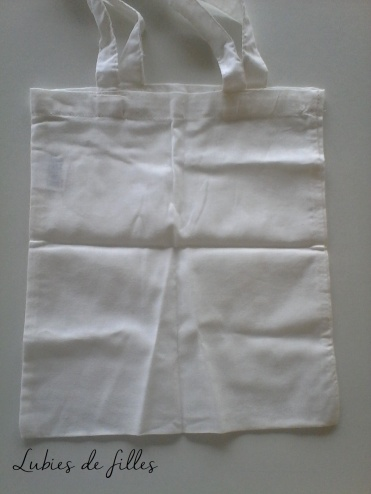 DIY customiser un tote bag lubies de filles