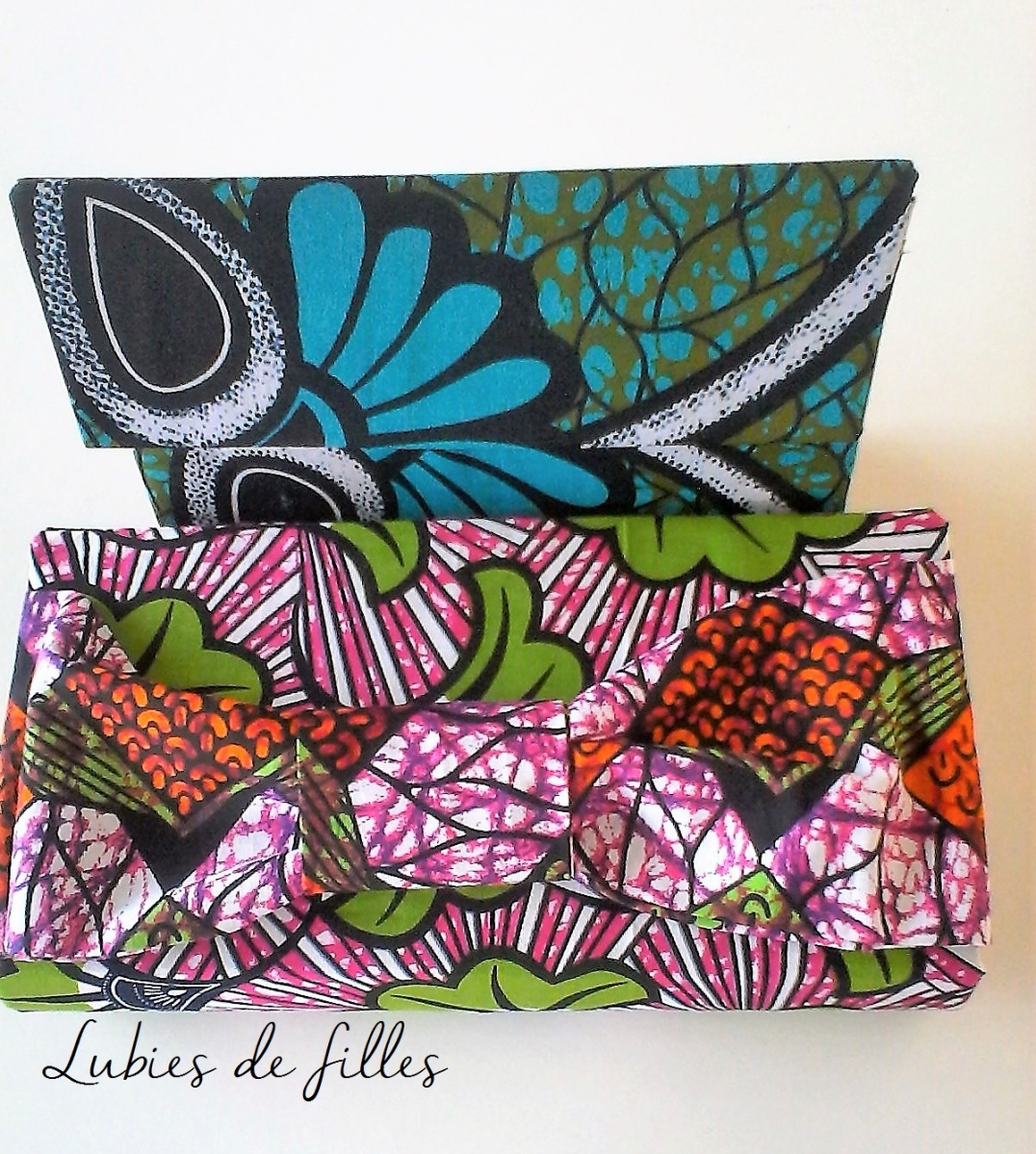 DIY pochette en wax
