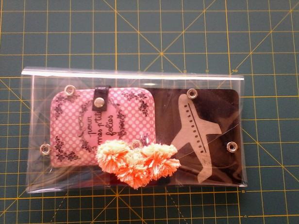 DIY pochette transparent lubies de filles 13