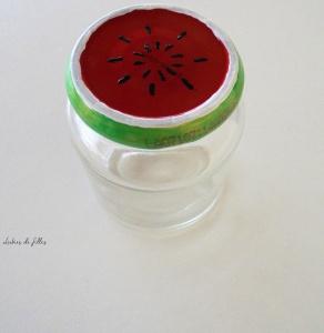 customiser des bocaux en verre