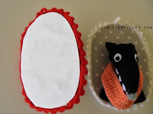 Portrait loup en crochet lubies de filles1