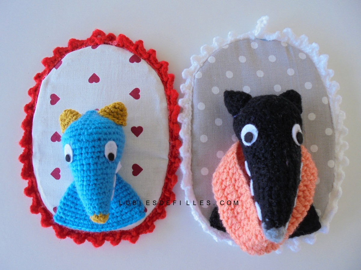 DIY trophée en crochet
