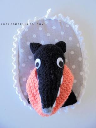 Portrait loup en crochet lubies de filles5