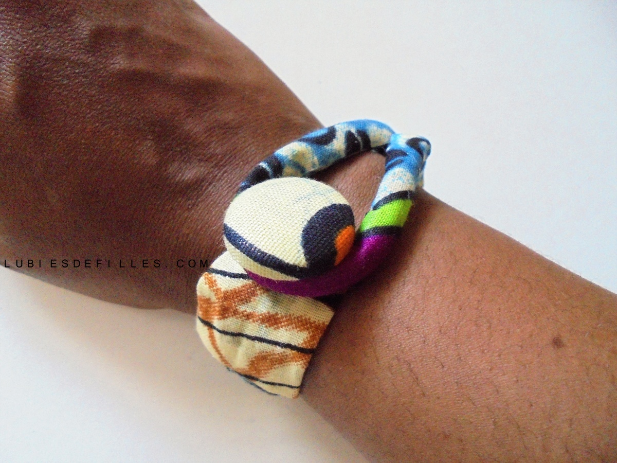DIY bracelet cordon en wax