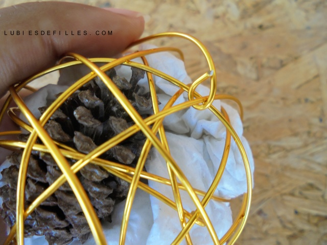 Boule en fil d'aluminium-lubiesdefilles.com 03