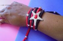 bracelet double en fil de nylon- lubiesdefilles.com 01