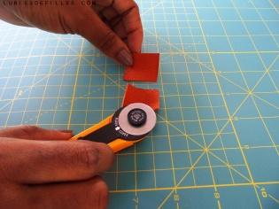 Boucles d'oreilles géométrique en cuir lubiesdefilles.com 0