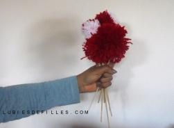 Bouquet de pompons lubiesdefilles 00