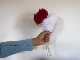 Bouquet de pompons lubiesdefilles 01