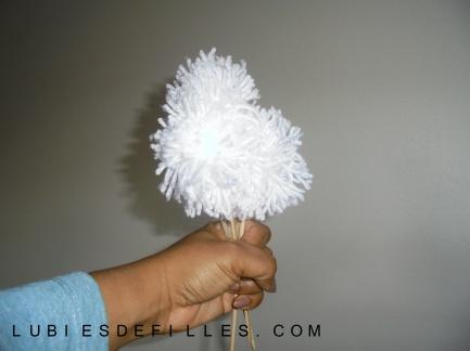 Bouquet de pompons lubiesdefilles 09
