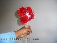Bouquet de pompons lubiesdefilles 10