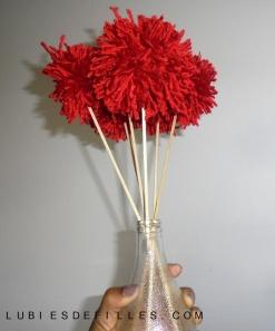 Bouquet de pompons lubiesdefilles 14