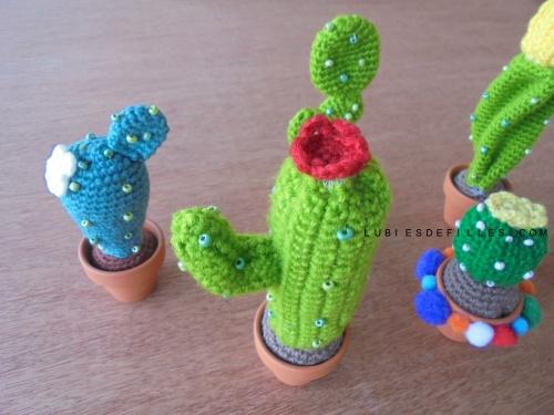 Cactus en crochet5