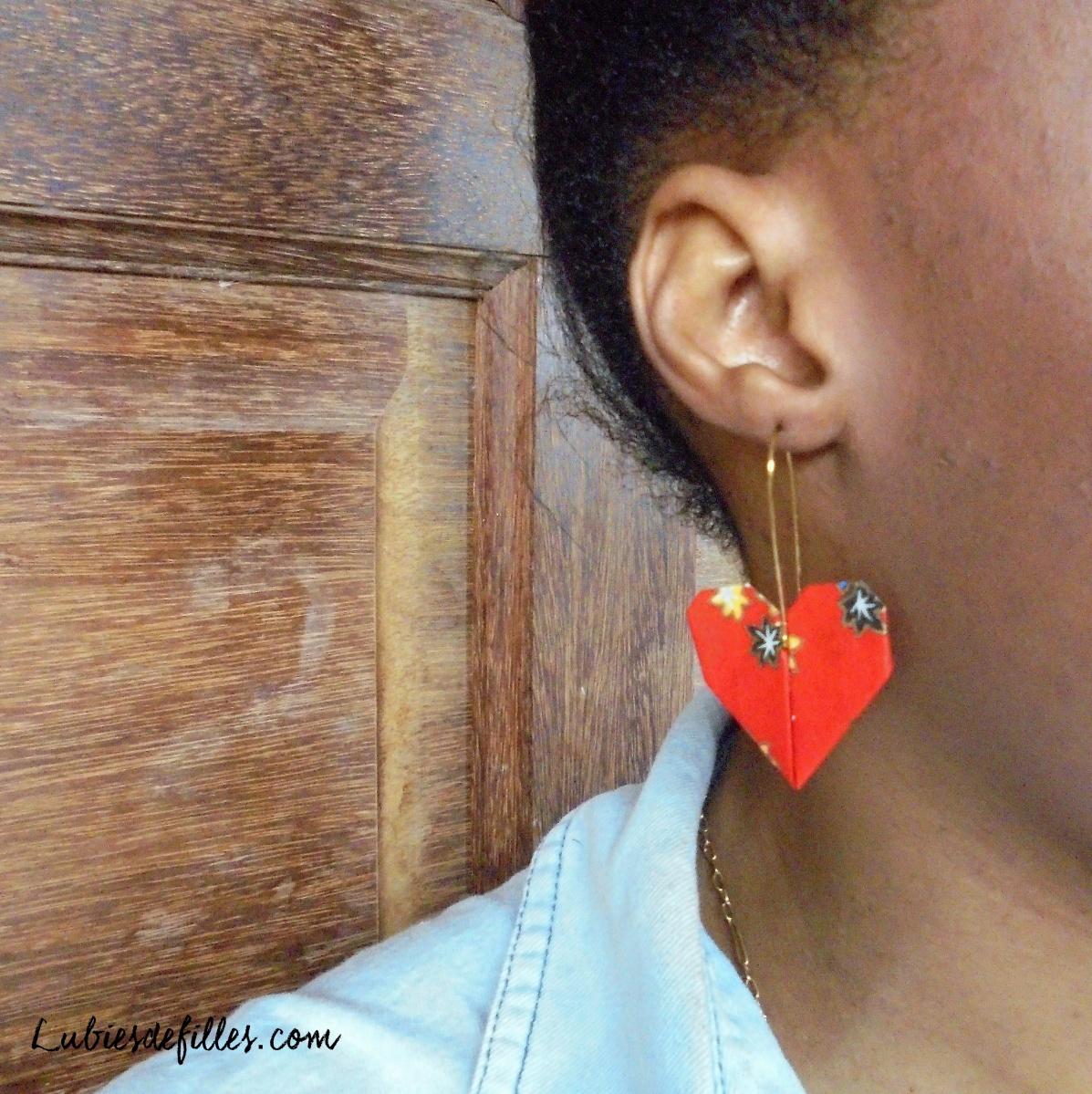 DIY express: Boucles d'oreilles cœur