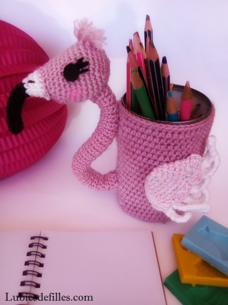 DIY flamant rose pour le SC and more n°440