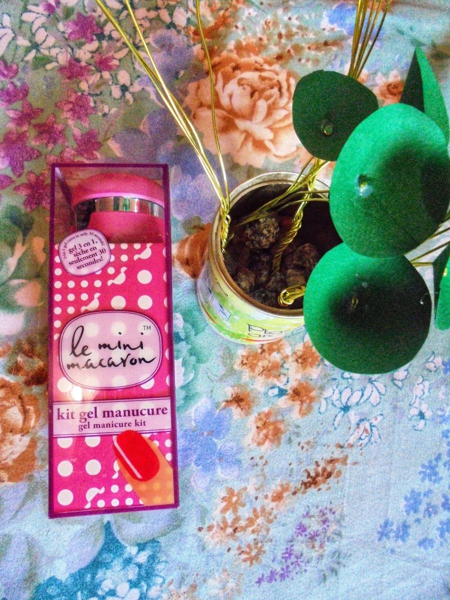 Kit gel manicure vernis semi permanent  le mini macaron |Concours (clos)|